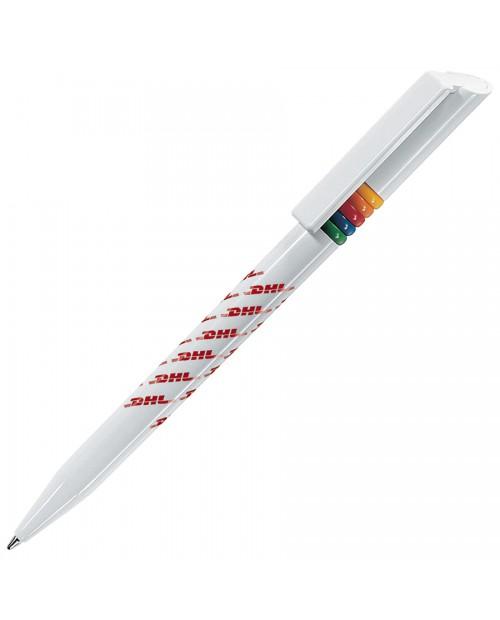 GRIFFE ARCOBALENO, ручка шариковая, разноцветные колечки