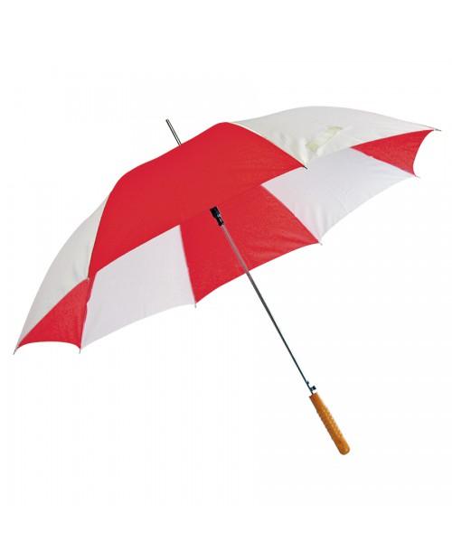 """Зонт-трость """"Joy"""" с деревянной ручкой, полуавтомат"""