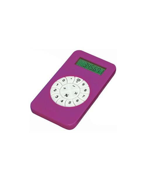 Калькулятор розовый
