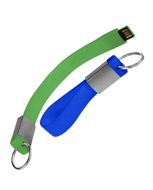 Брелок флешка для ключей из силикона обьёмом от 4 до 32 ГБ