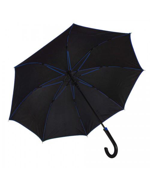 """Зонт-трость """"Back to black"""", полуавтомат"""