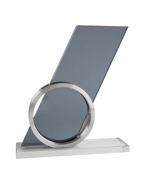 """Стела """"Gong"""" в подарочной упаковке, стекло, металл 13147"""