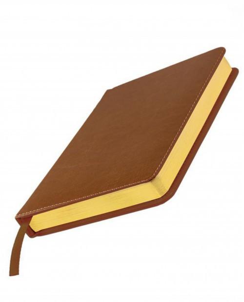 Ежедневник датированный Joy, А5, белый блок, золотой обрез