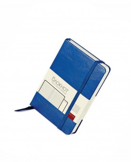 Блокнот Megapolis-Journal, А6, бежевый блок, без обреза, ляссе, с вертикальной резинкой