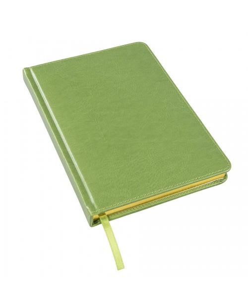 Ежедневник недатированный Joy, А5, белый блок, золотой обрез
